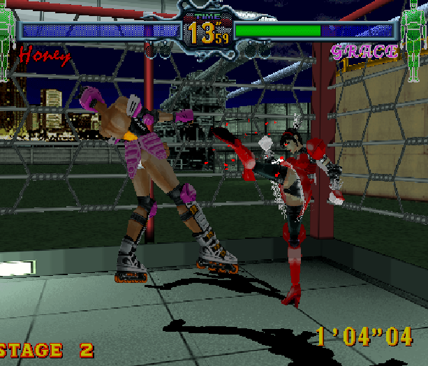Fighting Vipers Sega AM2 Saturn Arcade Fighting Xtreme Retro 12
