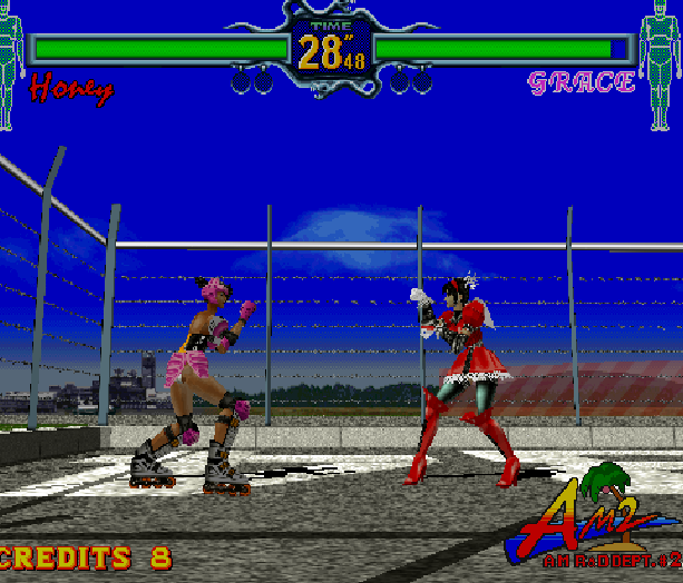 Fighting Vipers Sega AM2 Saturn Arcade Fighting Xtreme Retro 17