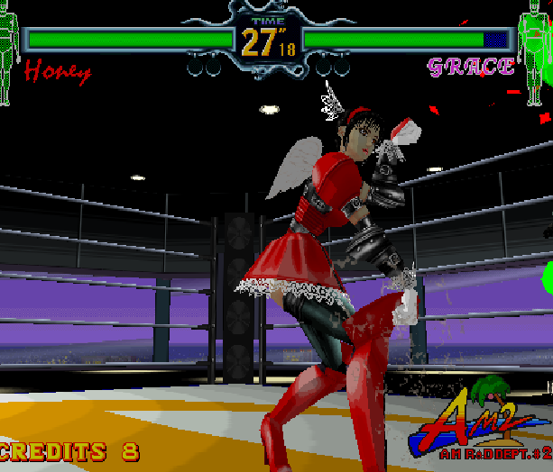 Fighting Vipers Sega AM2 Saturn Arcade Fighting Xtreme Retro 21