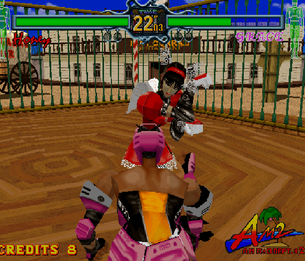 Fighting Vipers Sega AM2 Saturn Arcade Fighting Xtreme Retro 23