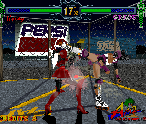 Fighting Vipers Sega AM2 Saturn Arcade Fighting Xtreme Retro 25