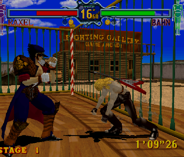 Fighting Vipers Sega AM2 Saturn Arcade Fighting Xtreme Retro 9