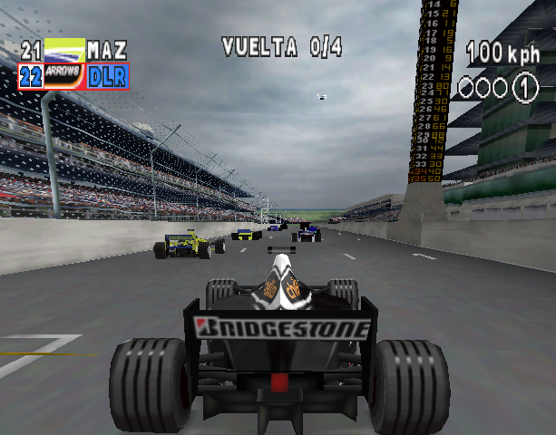 Formula One Arcade Sony PlayStation PSX PSOne Xtreme Retro 1