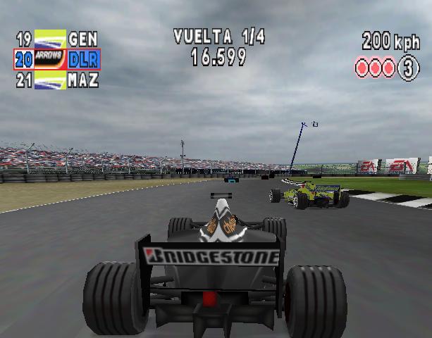 Formula One Arcade Sony PlayStation PSX PSOne Xtreme Retro 2