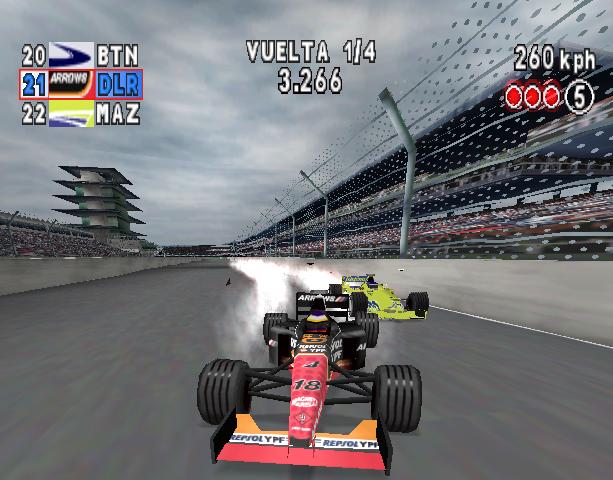 Formula One Arcade Sony PlayStation PSX PSOne Xtreme Retro 4