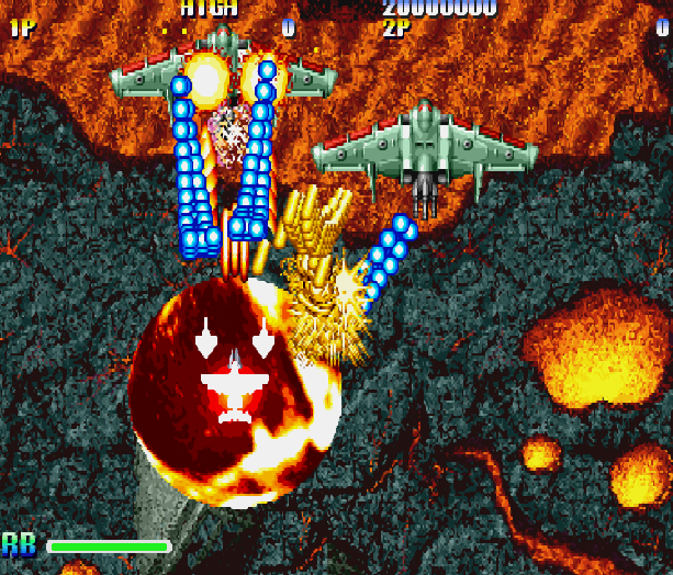 Giga Wing Capcom Arcade CPS II Dreamcast Shump Xtreme Retro 3