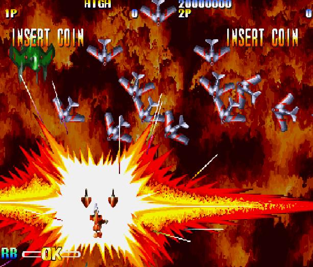 Giga Wing Capcom Arcade CPS II Dreamcast Shump Xtreme Retro 4