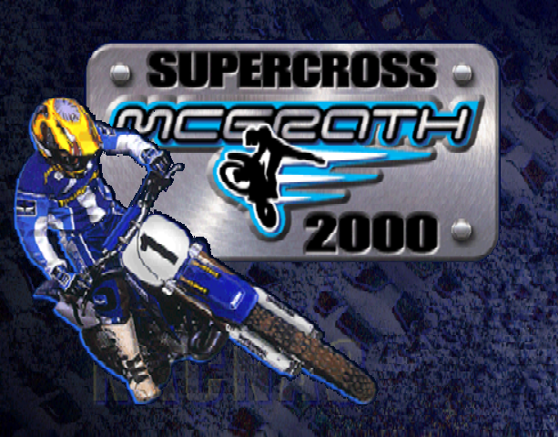JEREMY MCGRATH SUPERCROSS 2000 N64 PSX DC Xtreme Retro 1