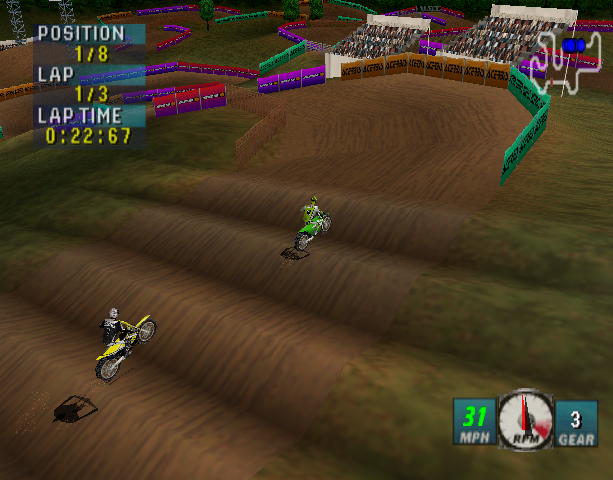 JEREMY MCGRATH SUPERCROSS 2000 N64 PSX DC Xtreme Retro 5
