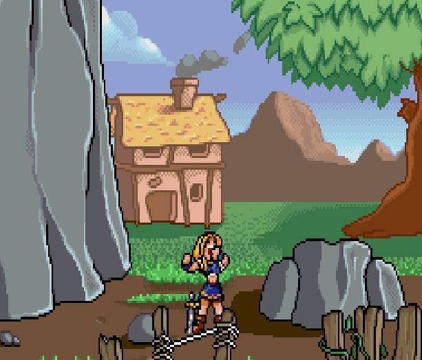 Lady Sia Game Boy Advance GBA Xtreme Retro 10