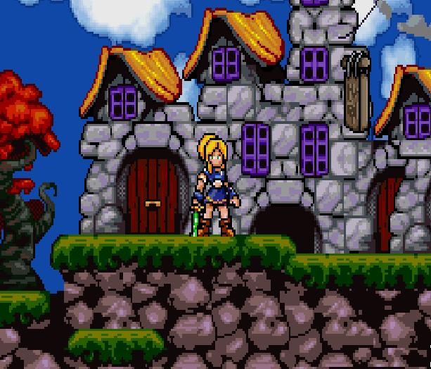 Lady Sia Game Boy Advance GBA Xtreme Retro 14