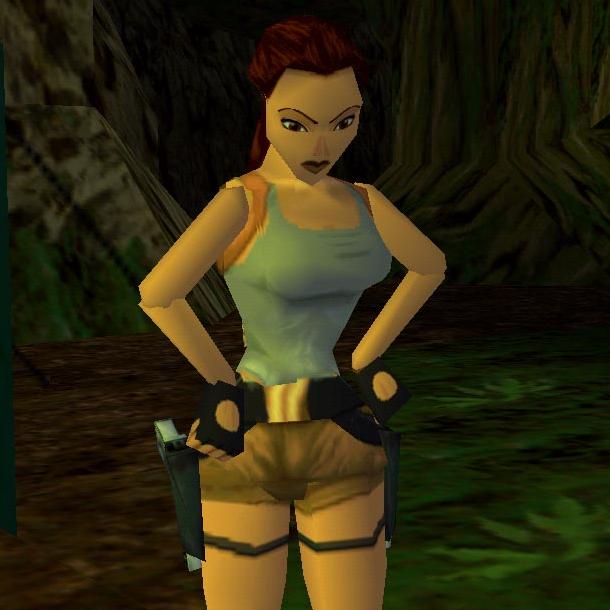 Lara Croft Tomb Raider 1 Sega Saturn PlayStation Xtreme Retro