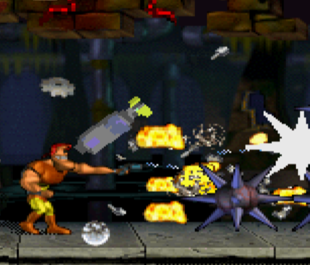 Major Damage Sega Saturn Capcom Cancelled Games Shoot em up Xtreme Retro 4
