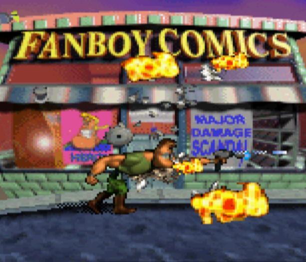 Major Damage Sega Saturn Capcom Cancelled Games Shoot em up Xtreme Retro 6