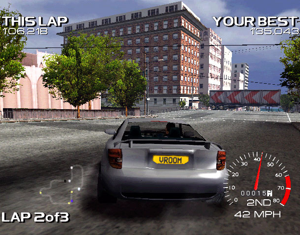 Metropolis Street Racer Sega Dreamcast Xtreme Retro 14