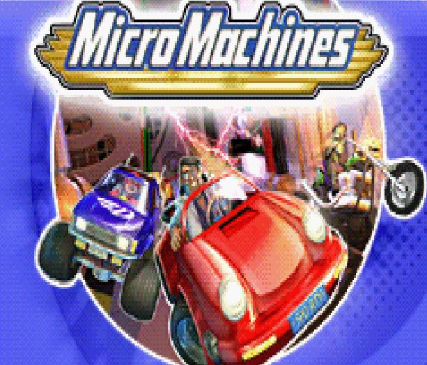 MicroMachines PS2 GC Xbox Xtreme Retro Pixel Art