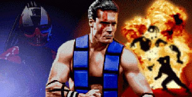 Mortal Kombat Armageddon Sub Zero Midway Pixel Art Xtreme Retro PS2 Xbox Wii