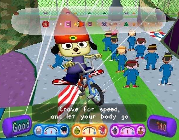 PARAPPA THE RAPPER 2 SONY PLAYSTATION 2 PS2 XTREME RETRO 1