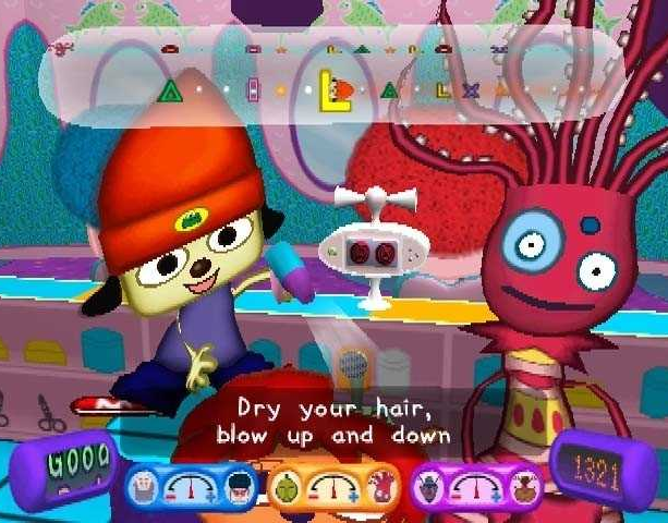 PARAPPA THE RAPPER 2 SONY PLAYSTATION 2 PS2 XTREME RETRO 2