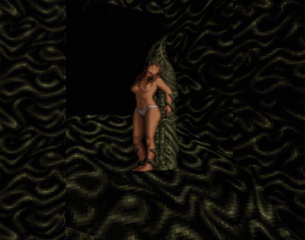 Pixel Girl Nude Xtreme Retro