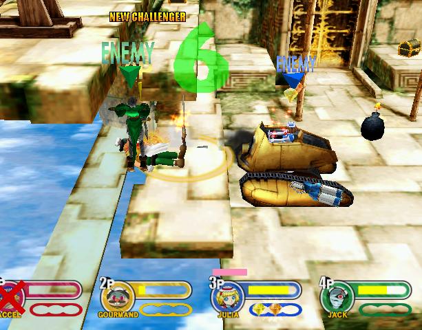 Power Stone 2 Capcom Sega Dreamcast Fighting Game Xtreme Retro 3