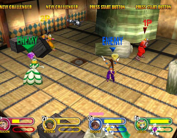 Power Stone 2 Capcom Sega Dreamcast Fighting Game Xtreme Retro 9