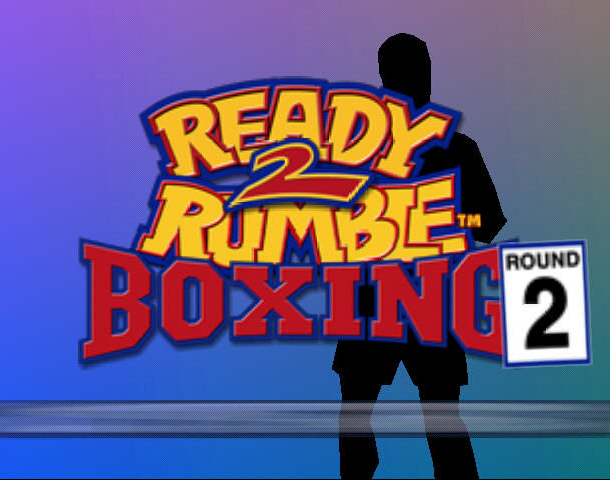 READY 2 RUMBLE ROUND 2 MIDWAY NINTENDO 64 N64 PLAYSTATION 2 PS2 PSONE PSX DREAMCAST XTREME RETRO 1