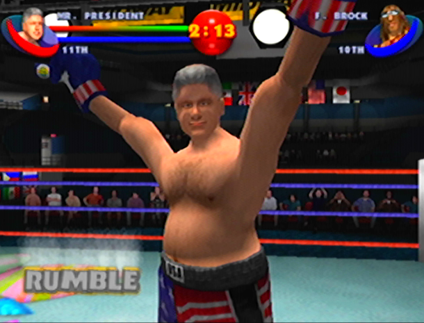 READY 2 RUMBLE ROUND 2 MIDWAY NINTENDO 64 N64 PLAYSTATION 2 PS2 PSONE PSX DREAMCAST XTREME RETRO 11