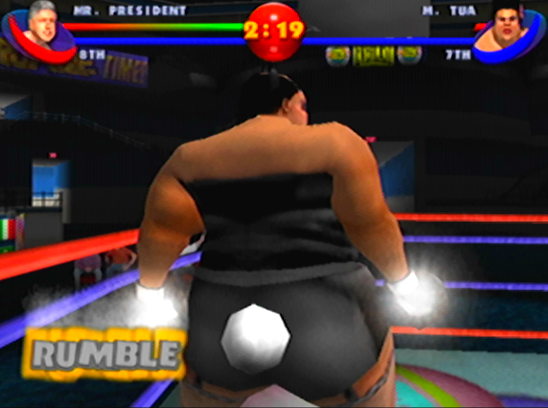 READY 2 RUMBLE ROUND 2 MIDWAY NINTENDO 64 N64 PLAYSTATION 2 PS2 PSONE PSX DREAMCAST XTREME RETRO 12