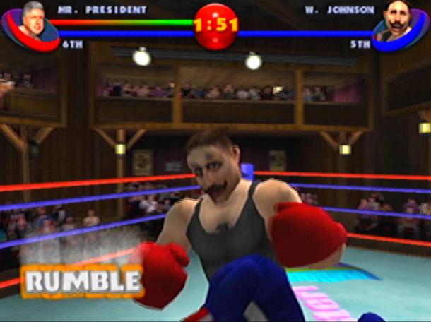 READY 2 RUMBLE ROUND 2 MIDWAY NINTENDO 64 N64 PLAYSTATION 2 PS2 PSONE PSX DREAMCAST XTREME RETRO 13