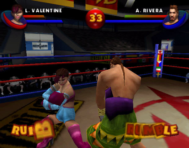 READY 2 RUMBLE ROUND 2 MIDWAY NINTENDO 64 N64 PLAYSTATION 2 PS2 PSONE PSX DREAMCAST XTREME RETRO 4
