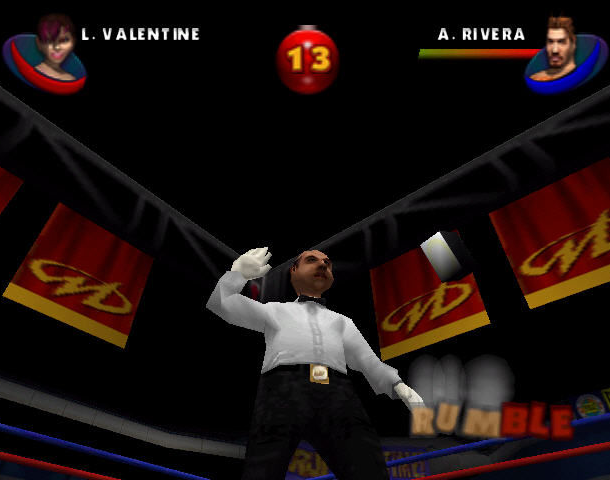 READY 2 RUMBLE ROUND 2 MIDWAY NINTENDO 64 N64 PLAYSTATION 2 PS2 PSONE PSX DREAMCAST XTREME RETRO 5
