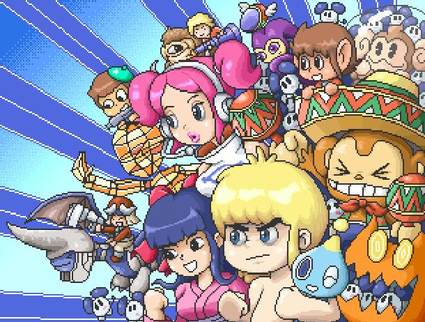 Sega Dreamcast Characters Pixel Art Xtreme Retro