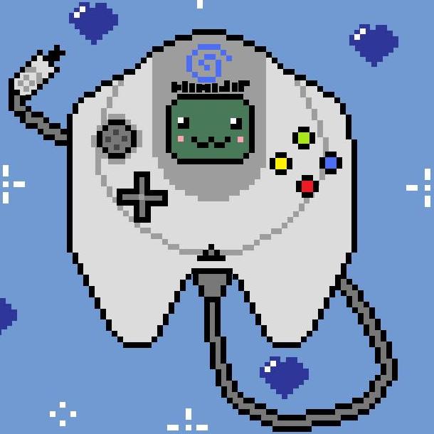 Sega Dreamcast Pixel Art Xtreme Retro