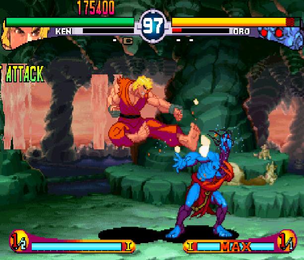 Street Fighter Double Impact Arcade Sega Dreamcast Capcom Fighting Xtreme Retro 1