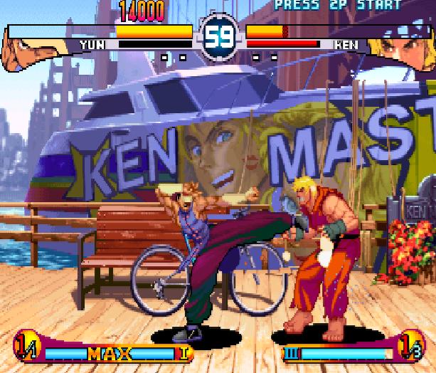 Street Fighter Double Impact Arcade Sega Dreamcast Capcom Fighting Xtreme Retro 12