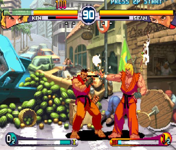 Street Fighter Double Impact Arcade Sega Dreamcast Capcom Fighting Xtreme Retro 14