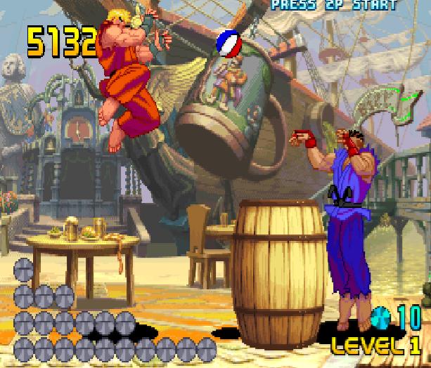 Street Fighter Double Impact Arcade Sega Dreamcast Capcom Fighting Xtreme Retro 3