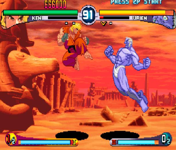 Street Fighter Double Impact Arcade Sega Dreamcast Capcom Fighting Xtreme Retro 6