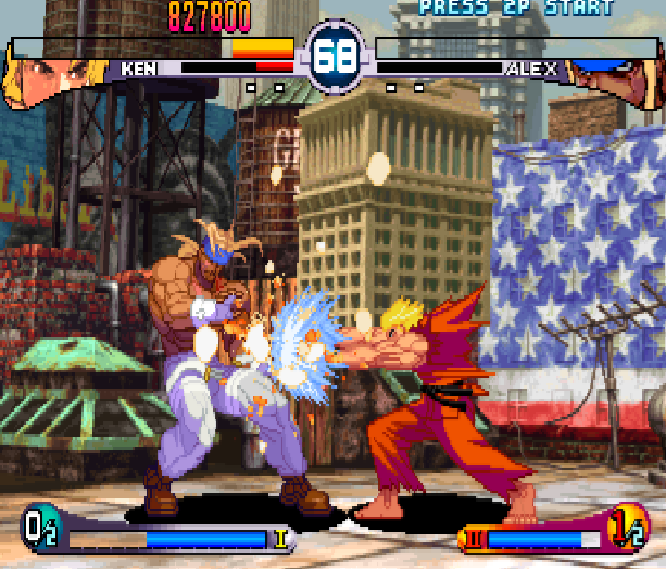 Street Fighter Double Impact Arcade Sega Dreamcast Capcom Fighting Xtreme Retro 7