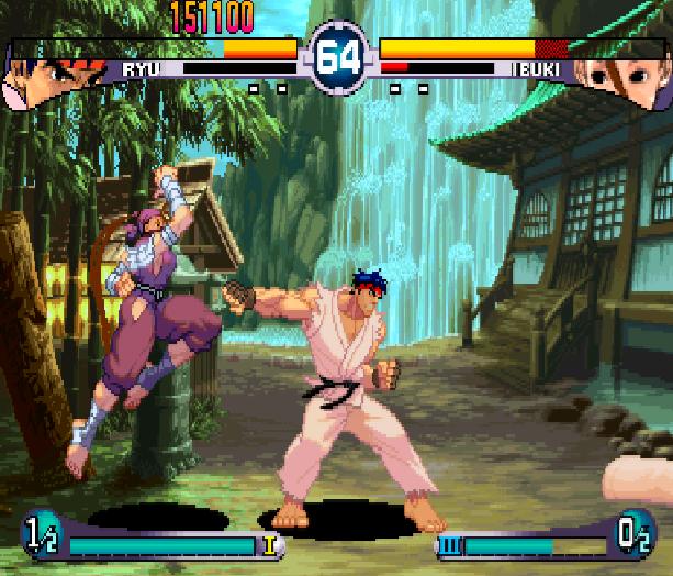 Street Fighter Double Impact Arcade Sega Dreamcast Capcom Fighting Xtreme Retro 9