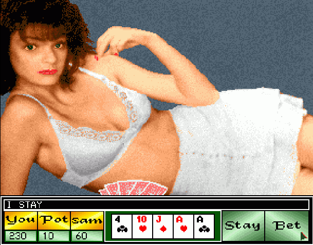 Strip Poker II Amiga Pixel Art Xtreme Retro