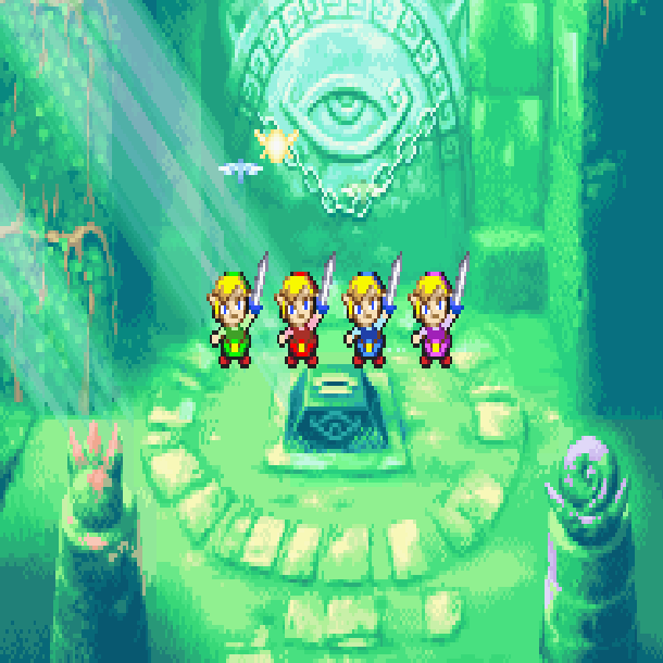 The Legend of Zelda Super Nintendo Game Boy Advance SNES GBA A Link to the Past Four Swords Xtreme Retro 5
