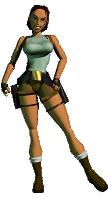 Tomb Raider 1 Pose Xtreme Retro