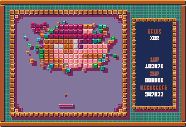 Alleyway Nintendo Game Boy Pixel Art Xtreme Retro