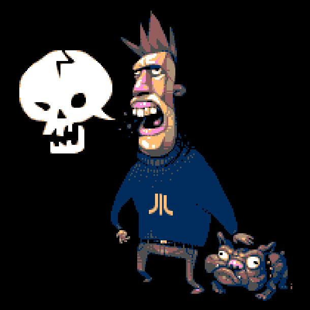 Bad Language Pixel Art Xtreme Retro