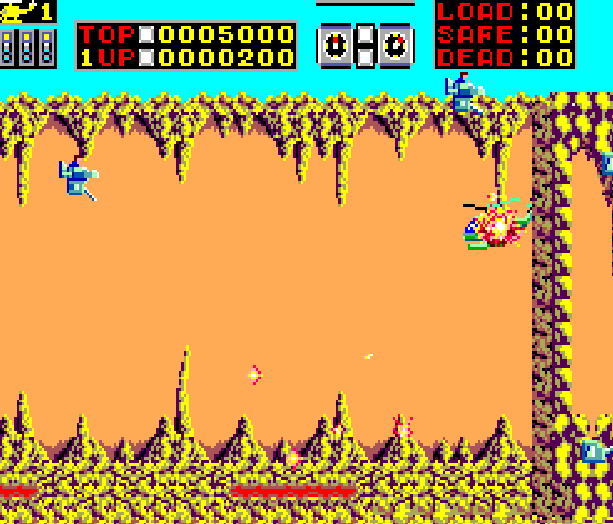 Choplifter Sega Arcade Master System Xtreme Retro 5
