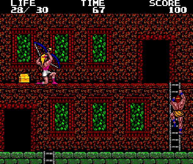 Danan the Jungle Fighter Sega Master System Xtreme Retro 2