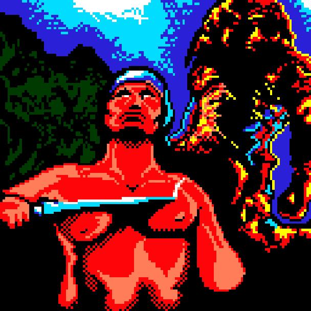 Danan the Jungle Fighter Sega Master System Xtreme Retro Pixel Art