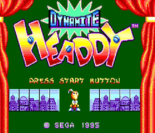 Dynamite Headdy Sega Master System Xtreme Retro 1